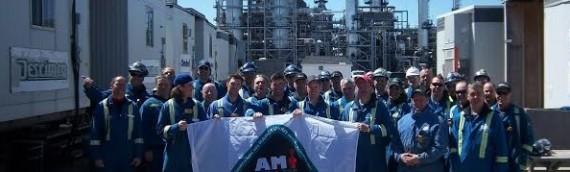 Chantier: Raffinerie Jean Gauvin à Lévis (Valero) – QUÉBEC