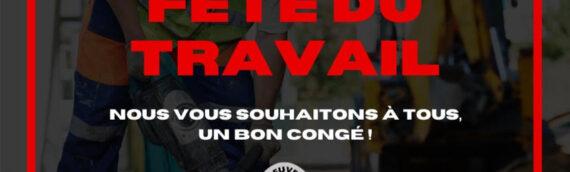 BONNE FÊTE DU TRAVAIL ! / Lundi, 7 Septembre 2020